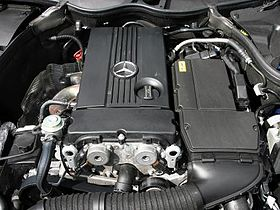 Motor da Mercedes Classes C e SLK